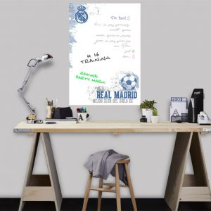 muursticker Real Madrid whiteboard