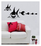 muursticker coart shark