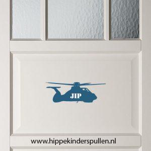 muursticker naam helikopter