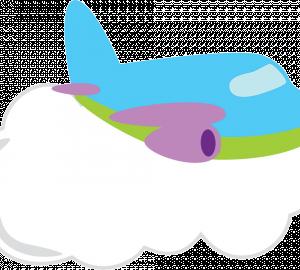 geboortebord vliegtuig