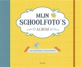 schoolfotoboek geel