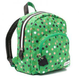 rugtas wild dots groen