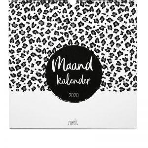 maandkalender 2020