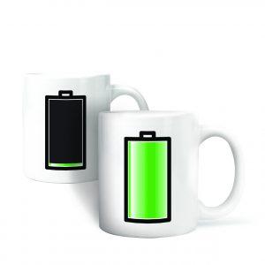 morph mug batterij