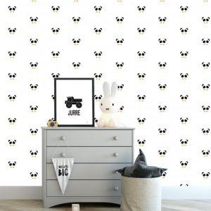 kinderbehang panda