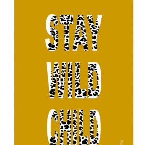 poster stay wild child