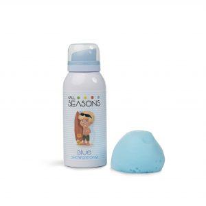 Shower foam blue surfer