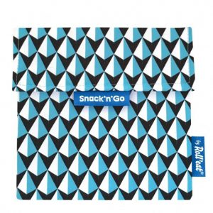 lunchzakje tiles blauw