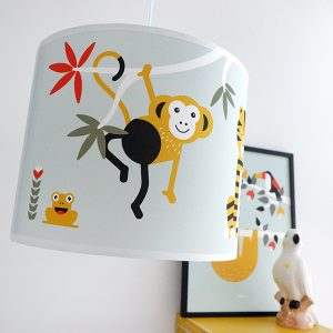 lamp jungle groen