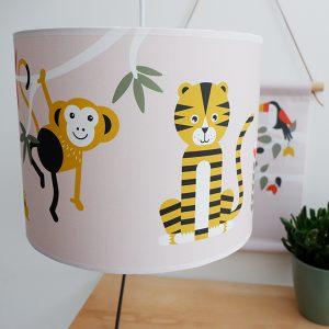 lamp jungle roze
